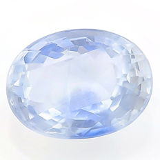 Sapphire - Light Violetish Blue - 1.84 ct