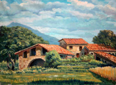 Catalan School (mid 20th c.) - Landscape