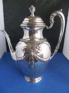 German silver coffeepot