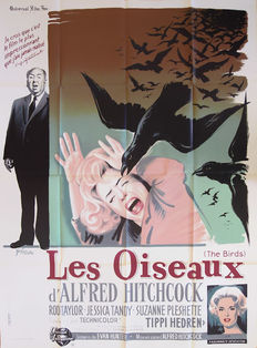 Boris Grinsson - Les Oiseaux (The Birds), Alfred Hitchcock - 1963