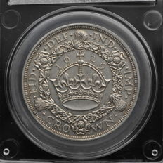 United Kingdom - Crown (Wreath) 1929 George V - silver