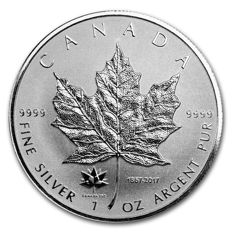 Canada - 5 CAD - Maple Leaf 2017 - Privy Mark 150 Years of the Maple Leaf - Special Embossing