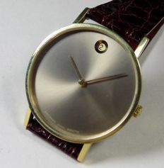 Movado Zenith Museum - 2572 PC - Iridescent Dial - 1980's - Men's Wristwatch