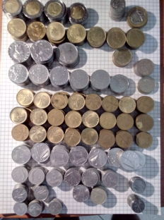 Republic of Italy – Lot of 671 coins