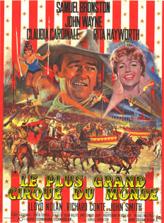 Mascii - Le plus grand cirque du monde (Circus World - John Wayne) - 1964
