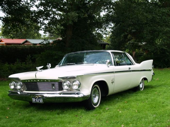 Chrysler - Imperial Crown Coupe - 1961