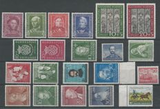 Federal Republic of Germany 1949/1952 - Selection - Michel 117/122, 139/140, 149/161