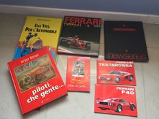 Lot of 7 Ferrari books