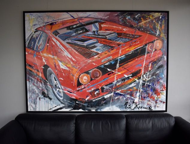 Decorative object - Origineel 'Ferrari' door Eric Jan Kremer - 2017-2017 (1 items)
