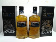2 bottles - Highland Park 10 years old Viking scars