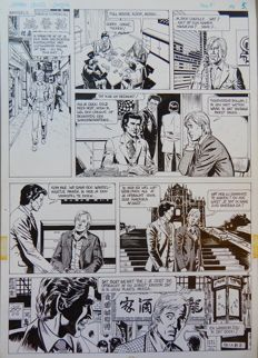 Scholz, Claus - Original page (p.5) - James Leigh - Jungle - (1989)