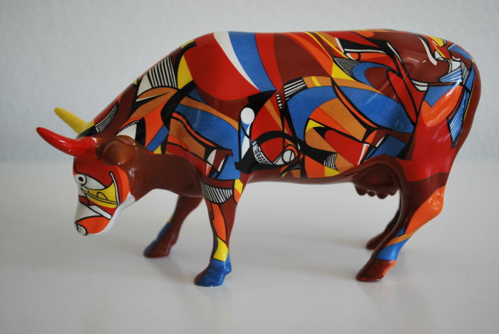 CowParade - Cathy Kenton - type Psycowdelicawow - 47303 - medium - retired.