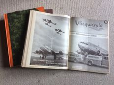 "Lot with 85 editions of ""Vliegwereld"", 1939-1941"