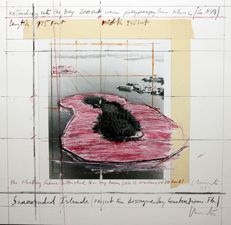 Christo and Jeanne Claude - Sourrended Island