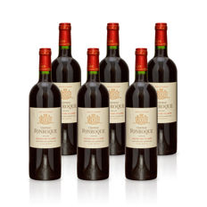 2012 Château Fonroque, Saint-Emillion Grand cru classé - 6 bottles (75cl)