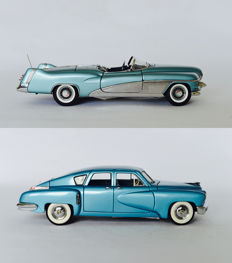 Franklin Mint - Scale 1/24 -  Le Sabre Show Car 1951 & Tucker 1948
