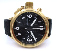 U-Boat - Flightdeck Chronograph - U-7750/50 Gold - men's.