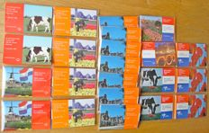 The Netherlands – Miniature coin sets 1998/2001 (22 pieces).