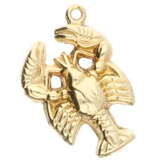14 kt yellow gold pendant in the shape of a scorpion – 1.05 grams – 19x12 mm