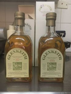 2 bottles - Glen Keith 10 years old and Glen Keith distilled before 1983