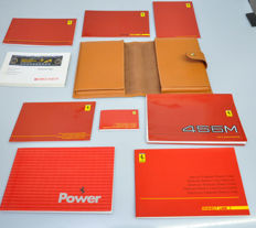 Instruction / maintenance folder Ferrari 456M - In leather cover