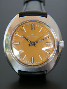 Helvetia - Men's wristwatch from 1970s - Swiss made.