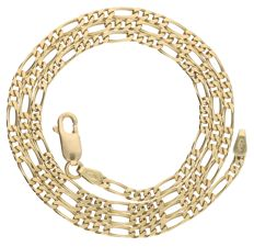 Necklace - 14 kt yellow gold - length: 47.1 cm