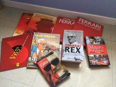 Lot of 9 Ferrari books