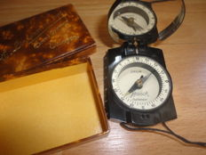 German compass for officers in original box