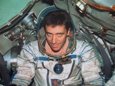 Roberto Vittori in space
