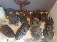 Wooden masks (20th century)