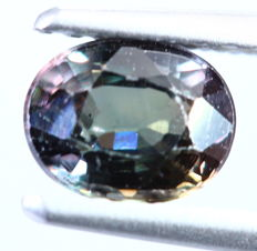 Color change Sapphire - 1.01 cts - No reserve price
