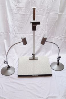 Olympus OM copy stand and lighting set