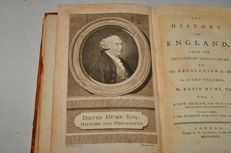 David Hume - The History of England: From the Invasion of Julius Caesarto the Revolution in 1688 - 8 volumes - 1786