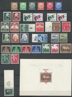 German Empire 1932/1938 - Selection