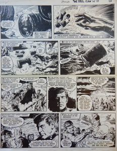 Blasco, Jesús - Original page (p.4408) - The Steel Claw - (1965)