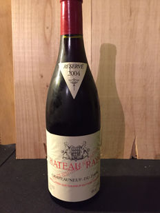 2004 Chateau Rayas Chateauneuf-du-Pape Reserve, Rhone - 1 bottle (75cl)