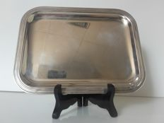 Christofle silver plated metal tray
