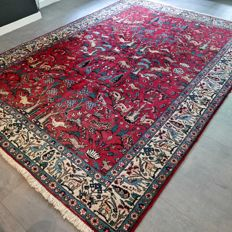 Special: animal kingdom Tabriz Persian carpet – 305 x 220. Unique opportunity!