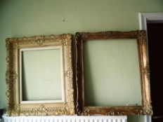 Two great old painting frames