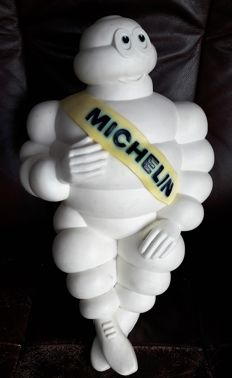 Michelin Bibendum - original 'made in France' figure in plastic - 48 cm - 1966