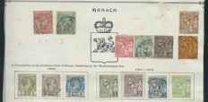 Collection of Monaco, United Nations, Andorra and French Colonies including Congo, Cameroon and Ivory Coast