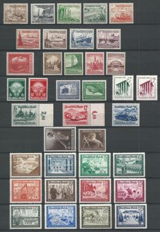 German Reich, 1937/1939 - selection.