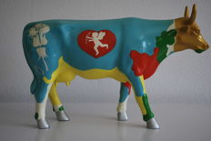 CowParade - Jose Figueroa - type Moocho Amor - Large and Retired