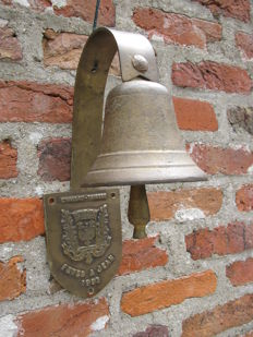 Copper wall / doorbell - Chateau Thierry arrondissements de l'Aisne