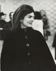 Ron Galella (1931-) - Jackie Kennedy at JFK Airport - Feb 1971