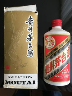 Kweichow Moutai - bottled 2nd half 1980s 500 ml - in original box