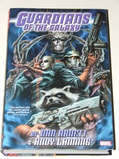 Guardians of the Galaxy By Abnett and Lanning Omnibus - Oversized HC - 1st edition - (2016)