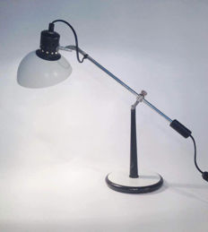 NF, Luminaires Electricité, France -  Rare French desk or table lamp