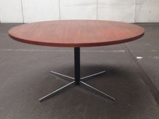 Wilhelm Renz – modernist design coffee or dining table (adjustable height)